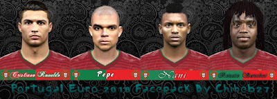 ortugal Euro 2016 Facepack by Chiheb27