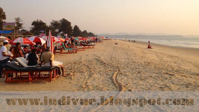 Cavelossim Beach, Goa, Intia