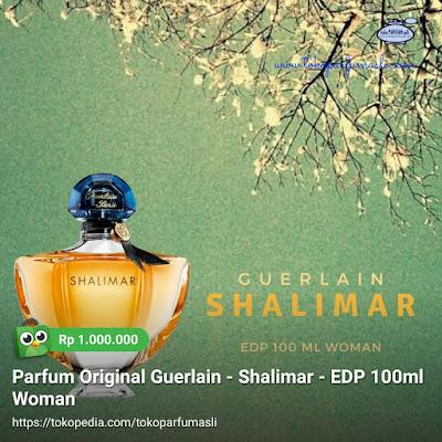 toko parfum asli parfum original guerlain shalimar edp 100ml woman