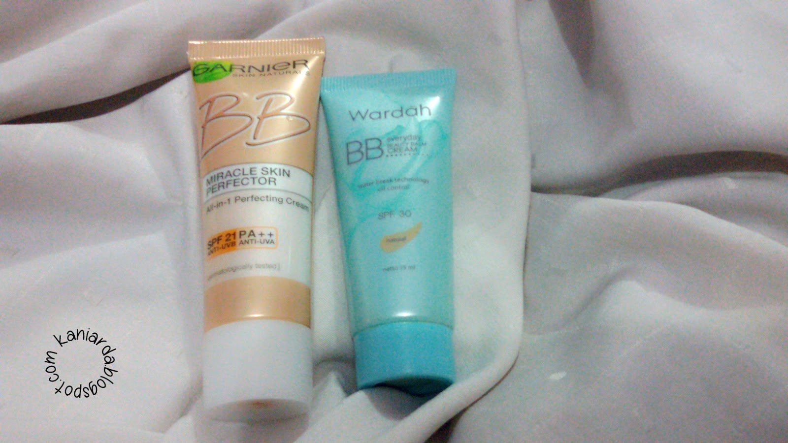 REVIEW : Garnier BB Cream VS Wardah Everyday Natural BB