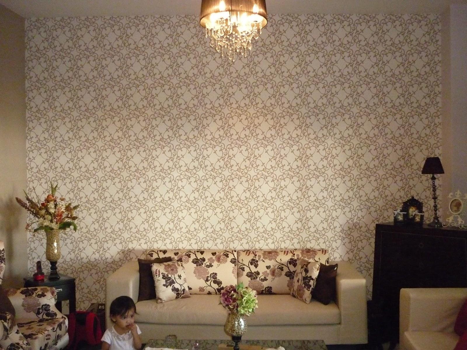 Contoh Karya Desain Ruang Tamu Cozy Terbaru