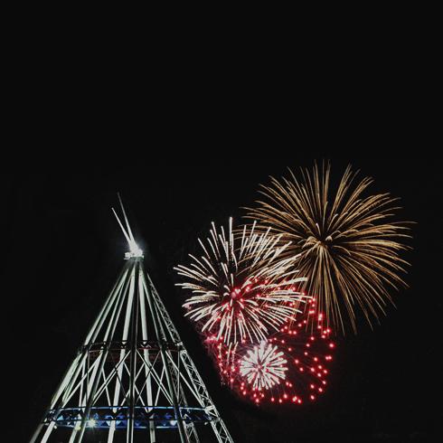 canada day fireworks medicine hat alberta photographer