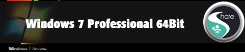 download Windows 7 professional 64Bit