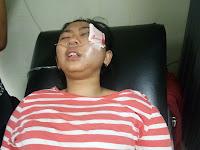 Kecelakaan Tunggal Jelang Ngabuburit, dialami Karyawan Natasha Skin Care