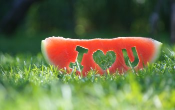Wallpaper: Watermelon I Love You