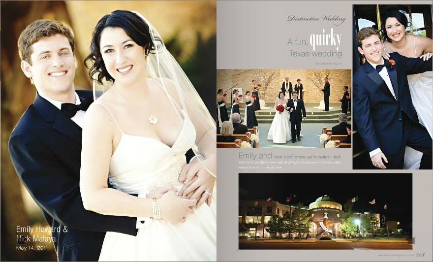 775f2024f206 Real Wedding: Emily + Nick published ... - The Fairy Godmother of Travel