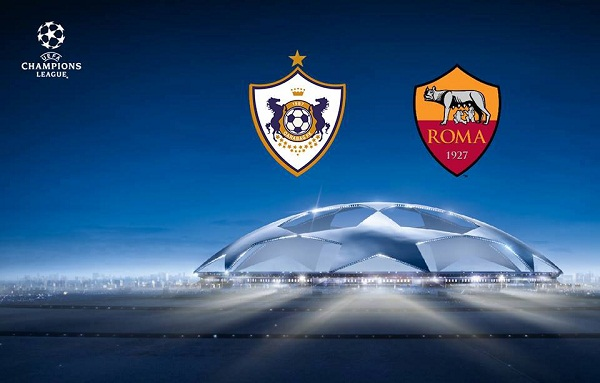 Qarabag vs AS Roma