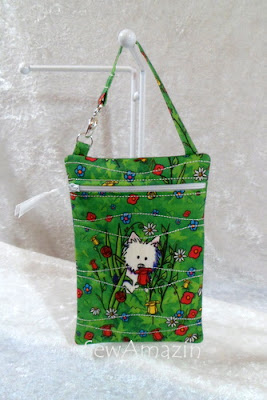 Garden Westies Gadget Holder/Zipper Case