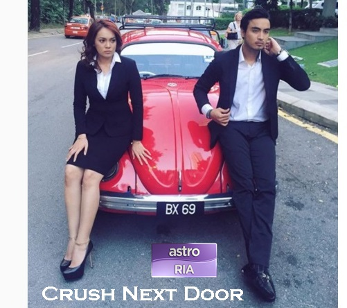 Sinopsis telefilem Crush Next Door (Astro), pelakon dan gambar telefilem Crush Next Door (Astro)