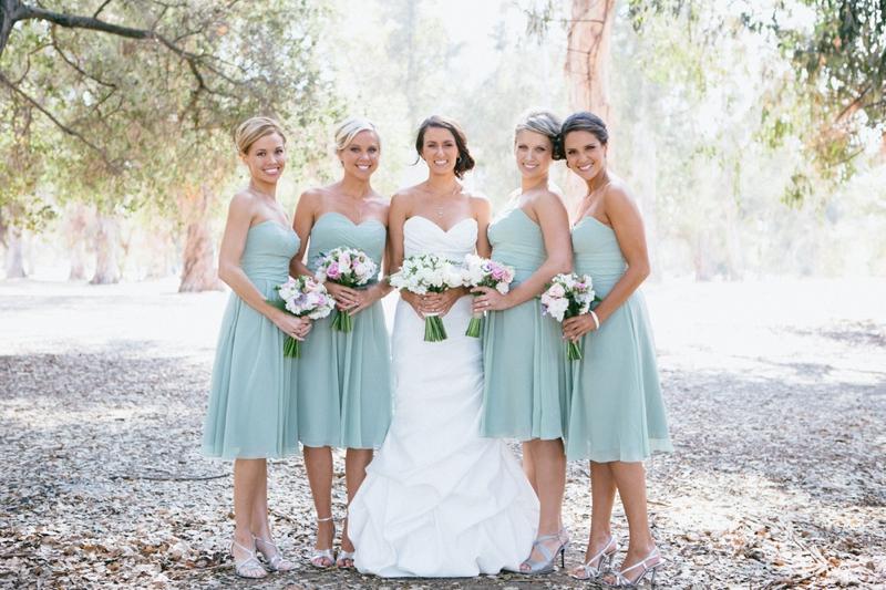 Wedding & Bridal Fashion Blog: Green and Pink Wedding Theme for ...