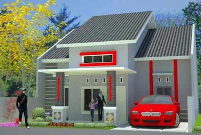 warna cat depan rumah minimalis yang elegan