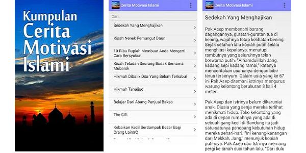 Aplikasi Beragam Kumpulan Cerita Motivasi Kehidupan