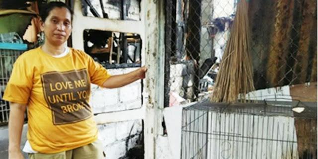 Keajaiban Sedekah: Perlengkapan Tukang Kue Ini Tak Terbakar Meski Rumahnya Hangus
