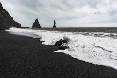 Vik's black sand beach has been a deadly site in Iceland