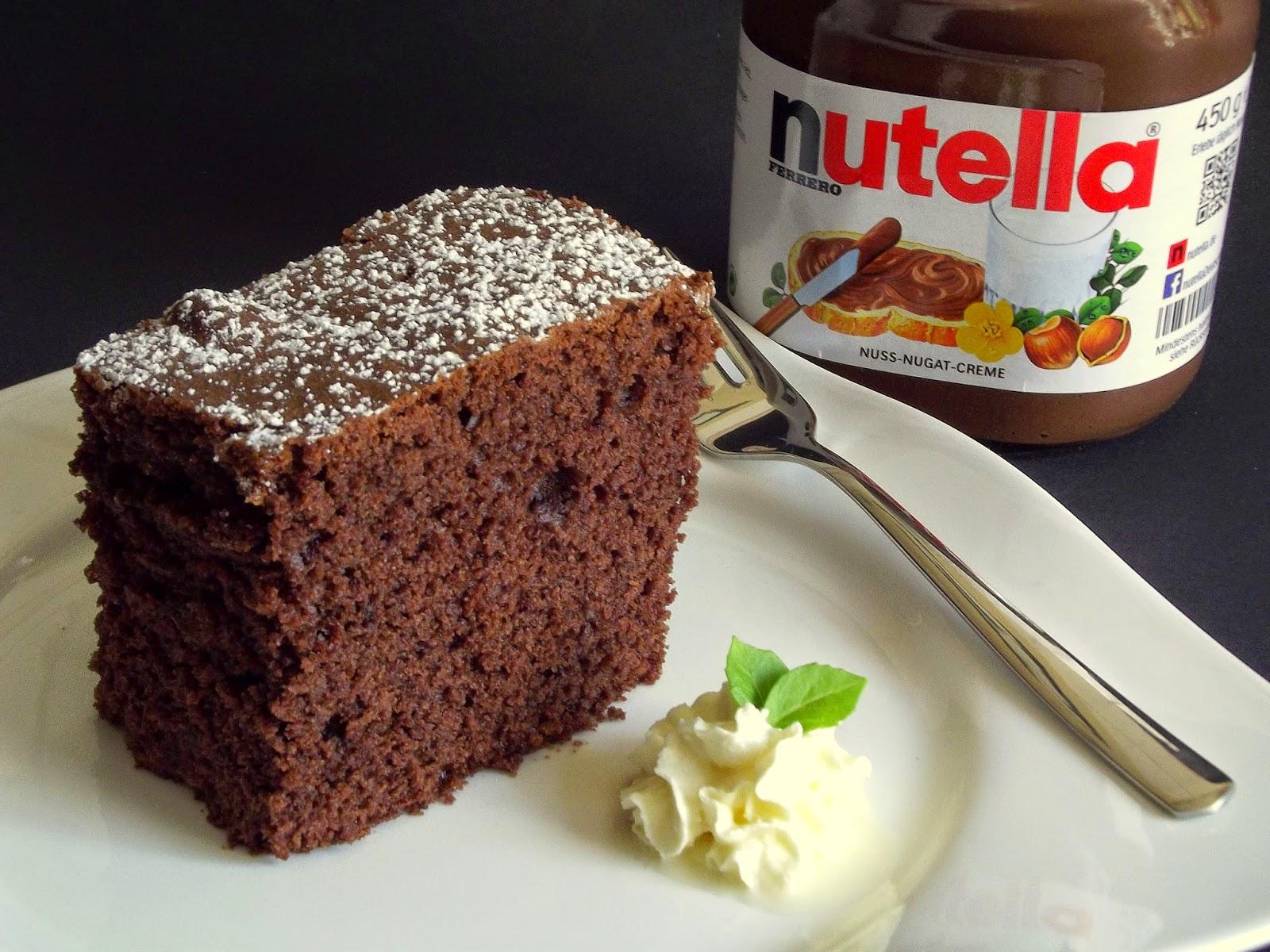 Backen Kann Jeder Nutella Kuchen