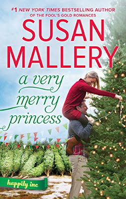 Book Review: A Very Merry Princess, by Susan Mallery, 3 stars