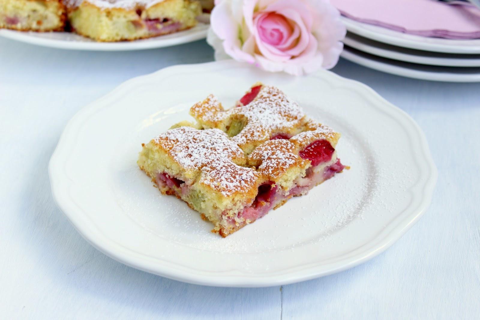 Foodwithlove Mit Pampered Chef Erdbeer Rhabarber Kuchen