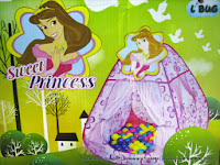 Play House Junior CBH-13 Sweet Princess+100 Bola