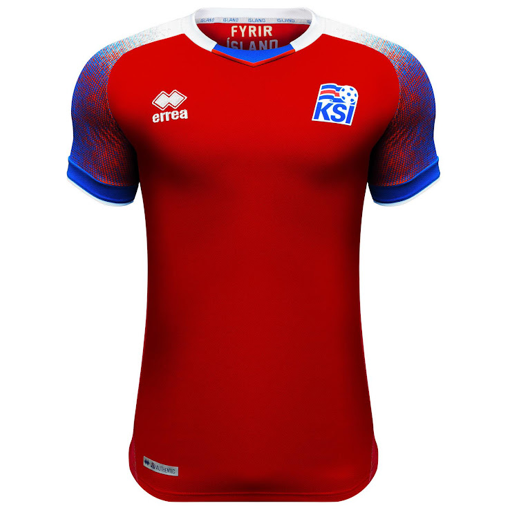Iceland 2018 World Cup Home and Away Kits Released - Footy Headlines 8cc1e393c