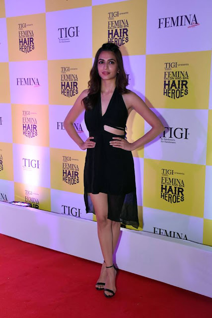 Kriti Kharbanda at Femina Salon & Spa Hair Heroes 2016