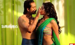 Shriya Saran – Making of Hot Romantic Song