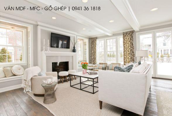 Màu trắng - Phong cách tối giản, thanh lịch và sang trọng