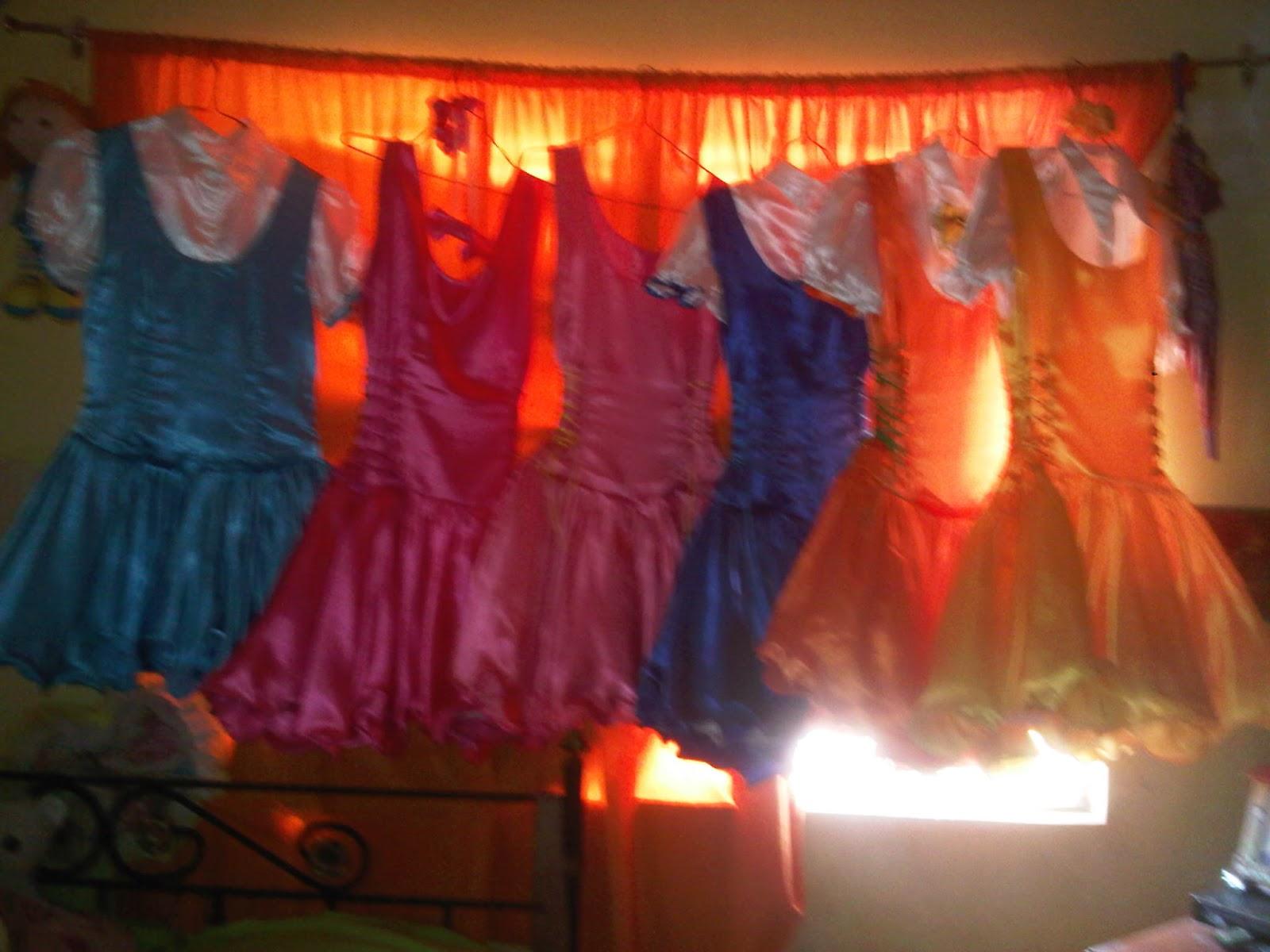 Puntodecorotos Vestidos De Payasitas
