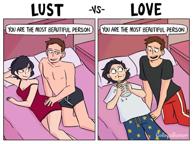 How to know  it is a lust : signs of lust, lust in man