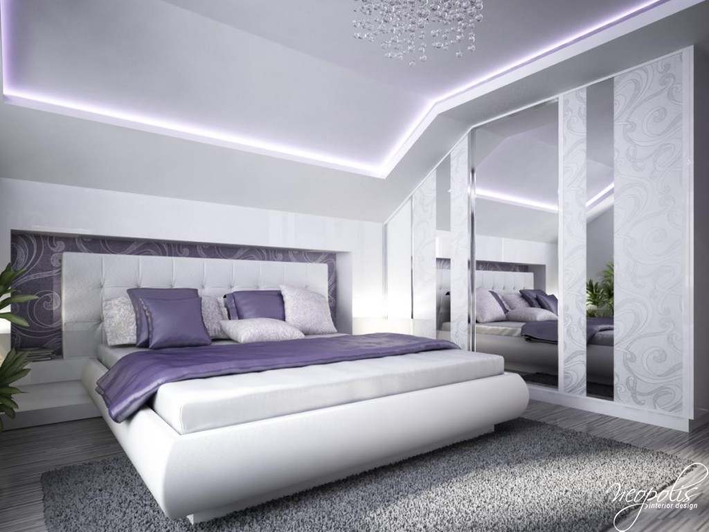 Stylish Design House With The Big Glass Windows Stock: Best Fashion: Modern Bedroom Designs By Neopolis 2014
