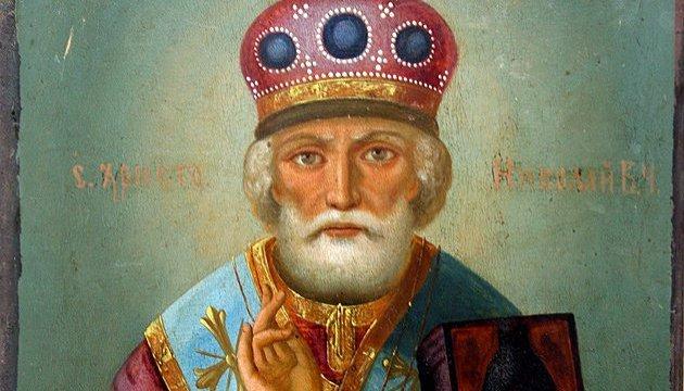 Ікона святого Миколая Зимового