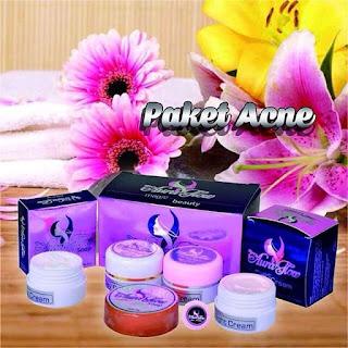 Harga Aura glow Paket Acne