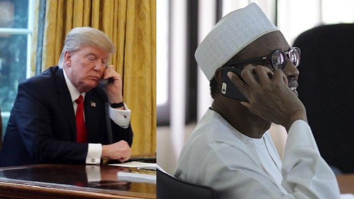 Donald Trump called Buhari on phone - Presidency