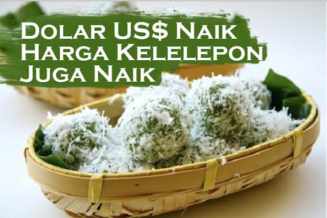 Naiknya nilai tukar Dolar AS atau melemahnya nilai Rupiah langsung dirasakan pada kehidupan sehari-hari. Salah satunya adalah dunia kuliner. Betapa tidak, sebagian besar bahan makanan yang dikonsumsi sehari-hari ternyata barang impor.