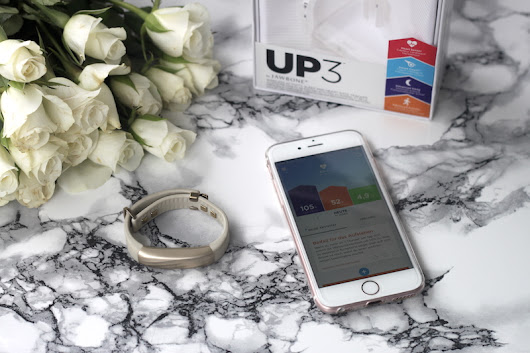 The golden storm: JAWBONE UP 3 TEST