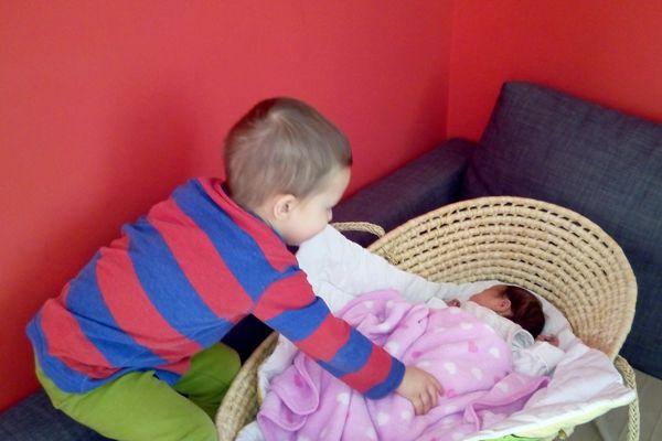 dwulatek i noworodek, kosz mojżesza