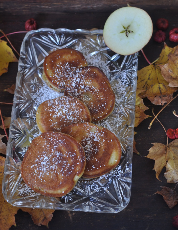 Apple Fritters for those cozy days of fall - and they're gluten free, too!