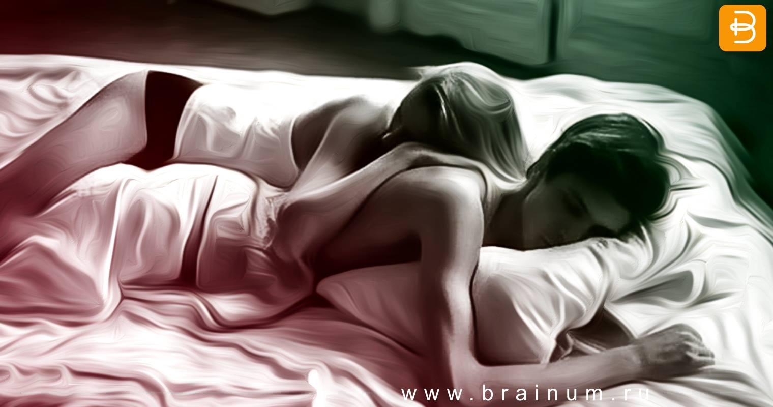 Секс ночью в постели, Супружеская пара вечером тратит остатки сил на 12 фотография