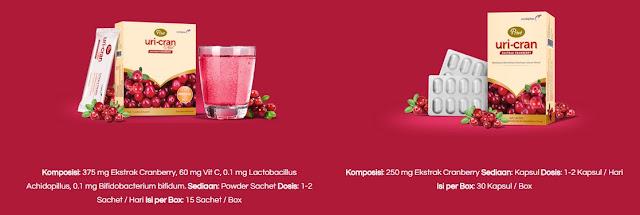 Cara mengatasi Anyang-Anyangan secara alami dengan Prive Uri-Cran. Kandungan ekstrak Cranberry nya bekerja aktif menjaga kesehatan saluran kemih sekaligus membebaskan dari gangguan Anyang-anyangan :) Ada 2 Jenisnya yaitu Prive Uri-Cran dan Prive Uri-Cran Plus. Bedanya satu dalam bentuk tablet yang satu dalam bentuk serbuk.