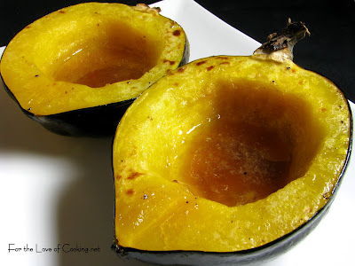 Maple and Brown Sugar Acorn Squash
