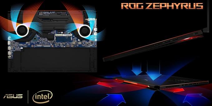 """ASUS ROG Zephyrus GX501 """" Notebook Gaming Tertipis di Dunia """""""