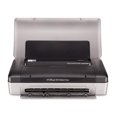 Main functions of this HP color inkjet portable printer HP Officejet 100 Driver Downloads