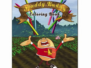 Image: Free Downloadable potato coloring book