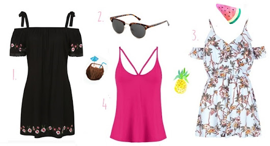 Summer Holiday Fashion Bargains Under £20