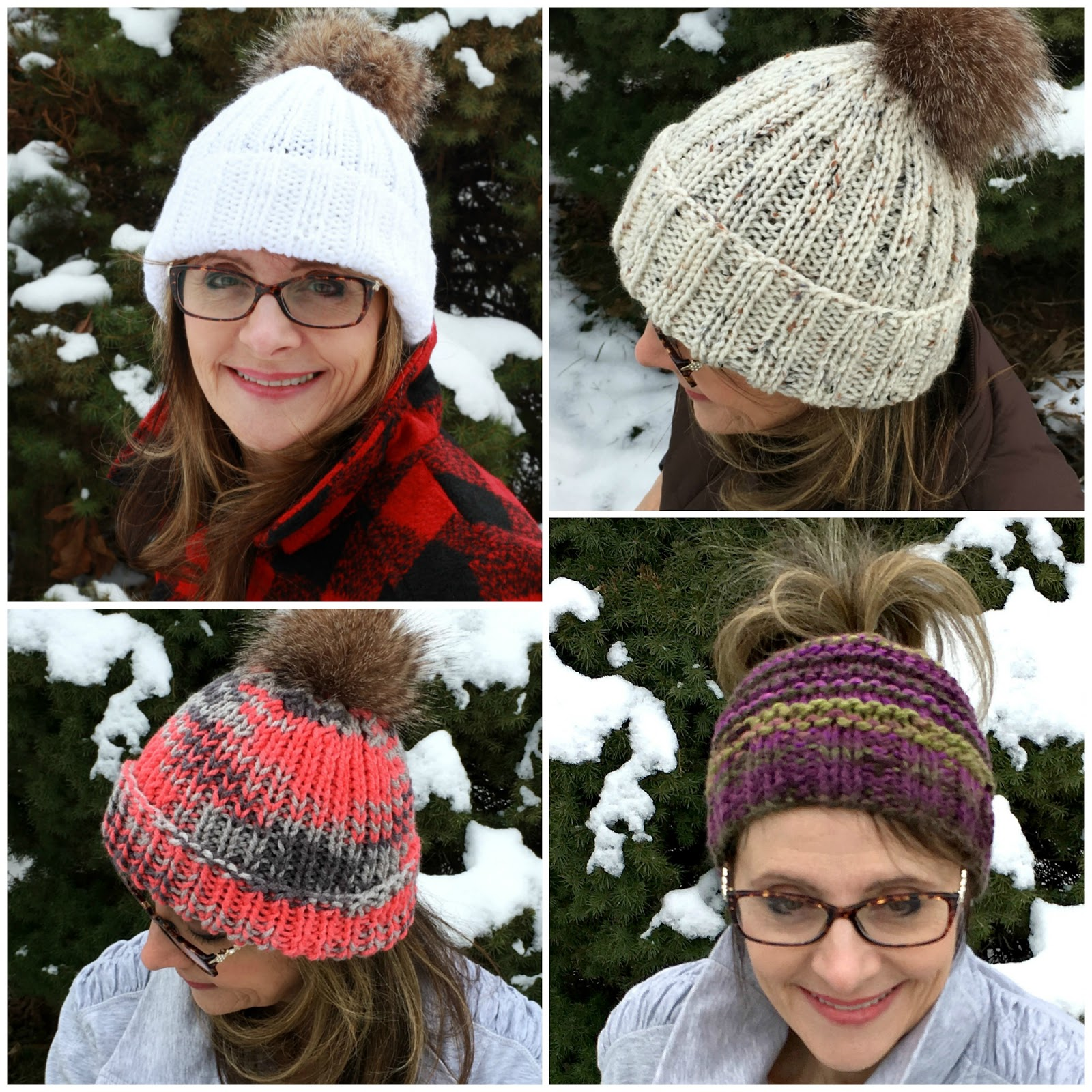 Knitting Patterns For Toques : Knitted Hats - Grateful Prayer Thankful Heart