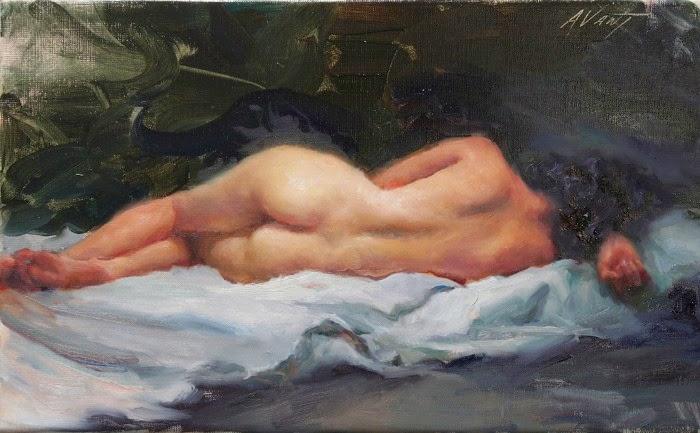 Слияние импрессионизма и реализма. Dominic Avant