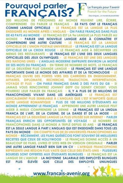 parler de français