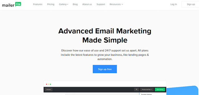 MailerLite: MailChimp Alternatives: eAskme