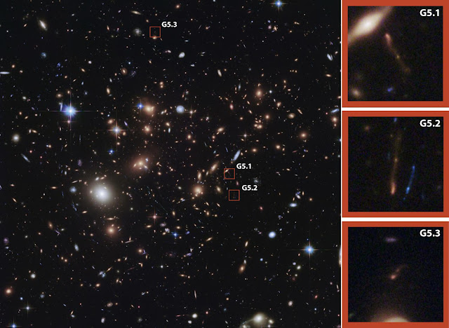 Astronomers find unexpected, dust-obscured star formation in distant galaxy