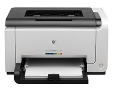 Affordable coloring printer that is equipped amongst a wireless connector that lets you lot impress  HP LaserJet Pro CP1025nw Color Printer Driver Download