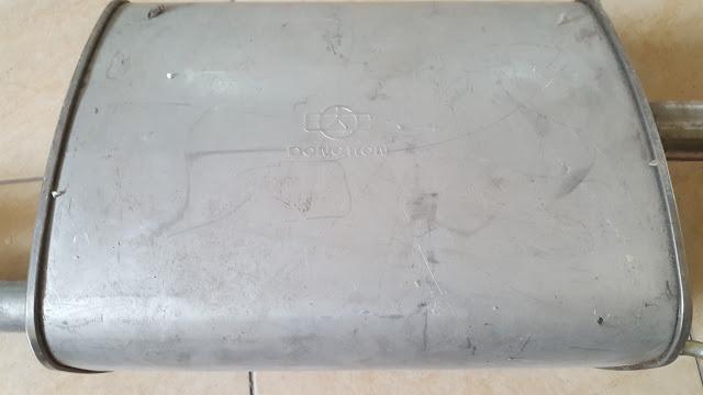 Ống xả đoạn cuối xe Lacetti EX chính hãng GM